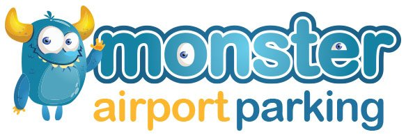 monster airport parking logo