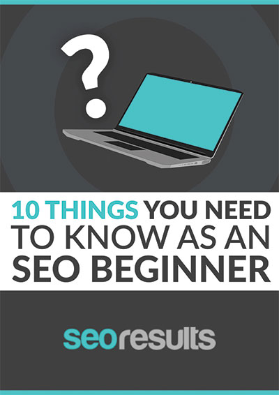 seo for beginners - free ebook
